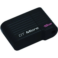 USB Flash Kingston DataTraveler Micro 32 Gb Black (DTMCK/32GB)