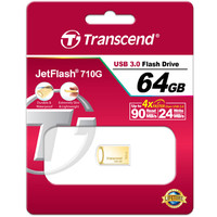 USB Flash Transcend JetFlash 710 Gold 64GB (TS64GJF710G)