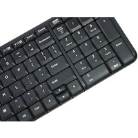 Мышь + клавиатура Logitech Wireless Combo MK220