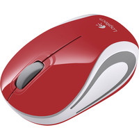 Мышь Logitech Wireless Mini Mouse M187 Red