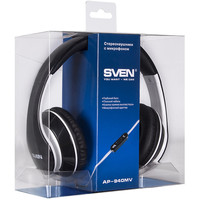 Гарнитура SVEN AP-940MV Black+White