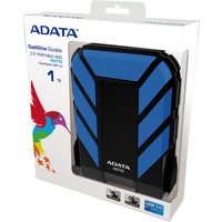 Внешний жесткий диск A-Data DashDrive Durable HD710 1TB Blue (AHD710-1TU3-CBL)