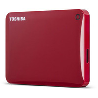 Внешний жесткий диск Toshiba Canvio Connect II 2TB Red (HDTC820ER3CA)
