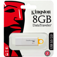 USB Flash Kingston DataTraveler G4 8GB Yellow (DTIG4/8GB)