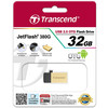 USB Flash Transcend JetFlash 380G 32GB Gold (TS32GJF380G)