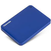 Внешний жесткий диск Toshiba Canvio Connect II 1TB Blue (HDTC810EL3AA)
