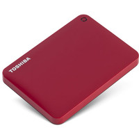 Внешний жесткий диск Toshiba Canvio Connect II 1TB Red (HDTC810ER3AA)