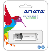 USB Flash A-Data C906 32 Гб White (AC906-32G-RWH)