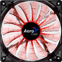 Кулер для корпуса AeroCool Shark Fan 140mm Evil Black Edition