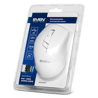 Мышь SVEN RX-325 Wireless White