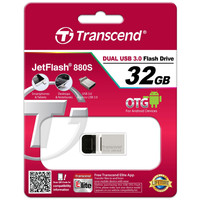 USB Flash Transcend JetFlash 880 32GB (TS32GJF880S)