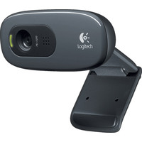Web камера Logitech HD Webcam C270 черный [960-001063]