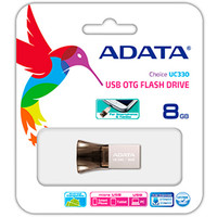 USB Flash A-Data Choice UC330 8GB (AUC330-8G-RBK)