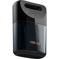 USB Flash Silicon-Power Jewel J06 Dark Blue 64GB (SP064GBUF3J06V1D)