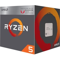 Процессор AMD Ryzen 5 2400G (BOX)