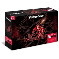 Видеокарта PowerColor Red Dragon Radeon RX 580 8GB GDDR5 AXRX 580 8GBD5-DHD/OC